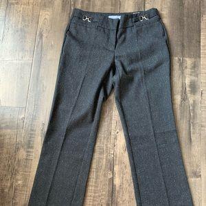 Dark Grey flare work pants